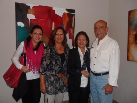 Mary Barbosa, Linda Côrtes e Marluce Tapajós e Alvaro Antonio Tamegaa
