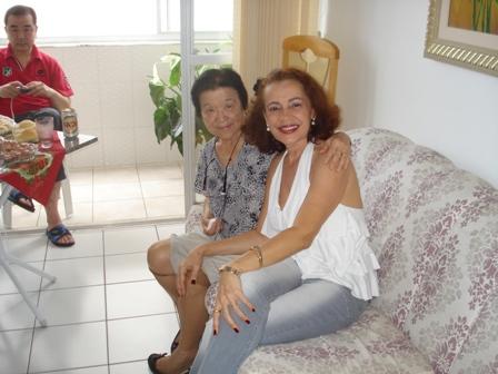 Yoshi Tubone e Fátima Pitombo