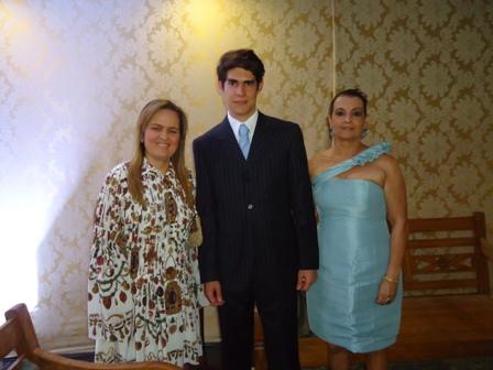 Lucia Mendonça , José Neto e Maria Tereza Falcão Guanaás