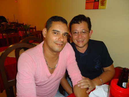 Erik Matos e Luiz Fernando Baldo da Cioccolato
