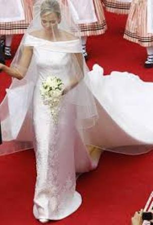 Charlene Wittstock Casamento real em Mônaco