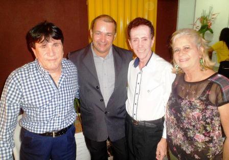 Colunista Oidema Ferreira, Aristeu Pinheiro, Pitombo e Maria Betânia Koanedt