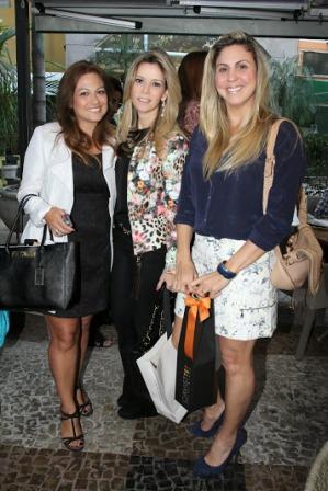 Bianca Bloise, Karine Nigri e Janine Sad
