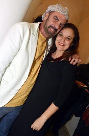 Fredy Ribeiro e Luciana Rodriguez