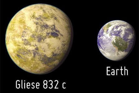 Gliese 832 c é o terceiro planeta mais parecido com a Terra