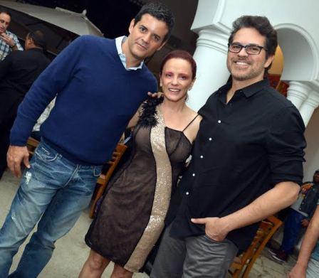 Jorge Pontual , Tânia Pires e Juan Alba