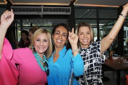 Moema Casares, Tania Carvalho e Tania Pereira