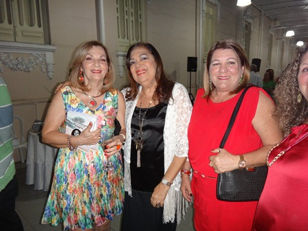 Ana Maria Nascimento, Eliana Carvalho e Maria Helena