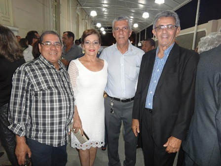 Antonio Jose Larangeira, Vilma Portugal, José Raimundo Azevedo e Expedito Freire