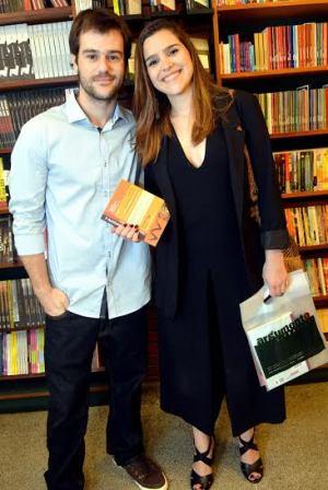 Caio Chaloub e Beatriz Didier