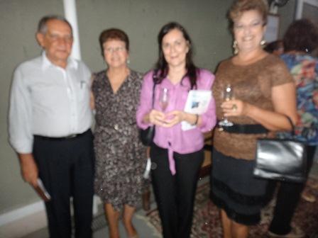 Dimas e Oliveira, Itala Pitombo e Ana Lucia Bahia