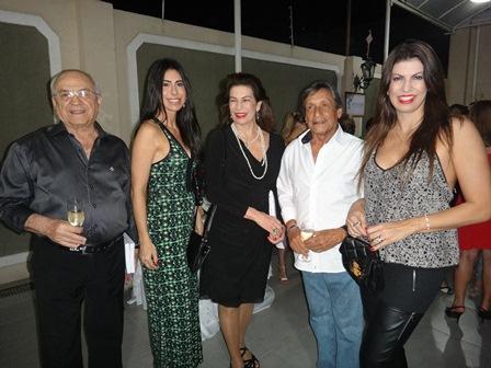 Helio, Helia, Regina Rui Caribé e Helina Dórea