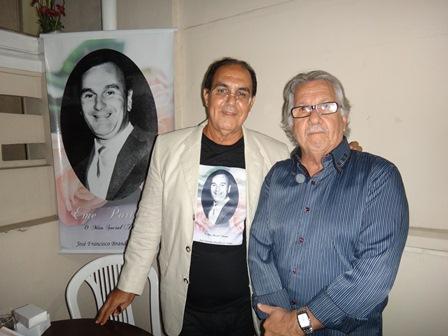 José Francisco Brandão com Naron Vasconcelos