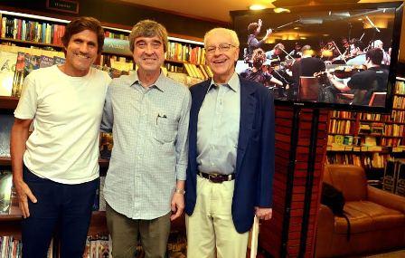 Marcus Gasparian ,AluisioDidier e Paulo bertazzo