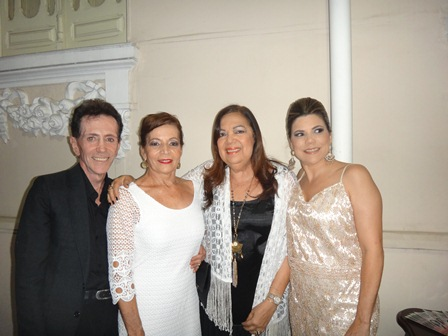 Pitombo, Vilma Portugal, Kátia Carvalho e Fabiane Portugal