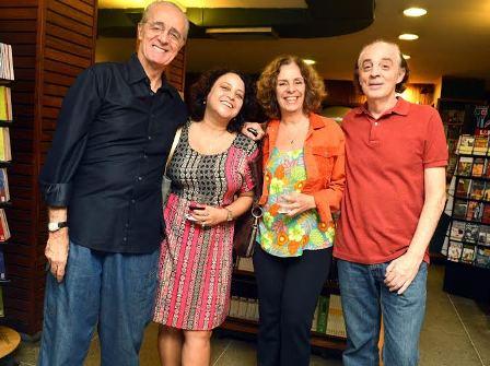 Rildo Hora , Nani Santoro .Fernanda Dias e carlos Sion