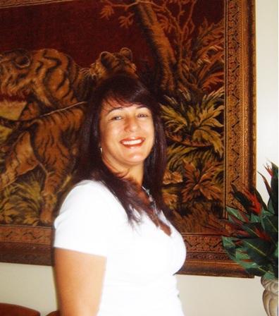 Empresaria Tânia Barreto do restaurante Flor do Maracujá em São Paulo