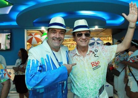 Carlos Roberto Osório e Maurício Mattos
