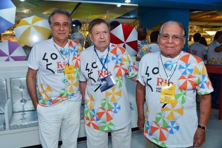 Roberto D'Ávila, Boni e Ivo Pitanguy