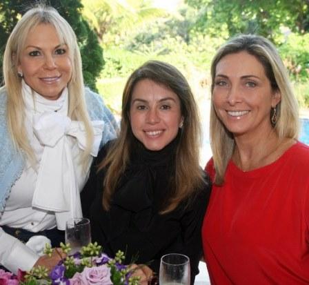 Nina Kauffmann, Viviane Vianna e Carla Penna