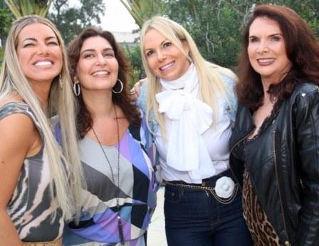 Sandra Cavalcanti, ROberta Limmer, Nina Kauffmann e Jane Rose Klarnet