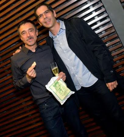 Charles Gavin e Dado Villa