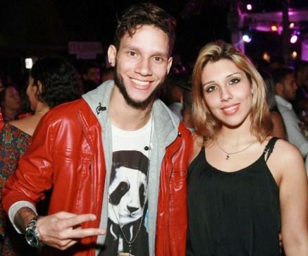 Dj Havoc e Luana Gomes