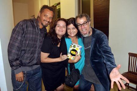 Gui Rodrigues , Rita Vilhena, Gabriela Azevedo e Billy Brandão