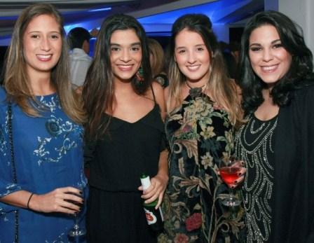 Isabella Rocha, Laila Baião, Julia Malta e Camila Paquet