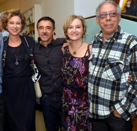 Katia B , Charles Gavin, Rejane Ziles e Jads Macaté