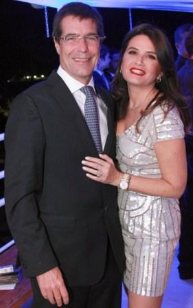 Paulo Renato Paquet com Fernanda Chies