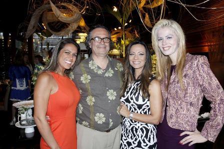 Bianca Bottini, Zé Ronaldo Muller, Marcia Romão e Giovanna Priolli