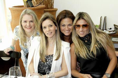 Claudia Jannuzzi, Karina Nigri, Marcia Romão e Ana Paula Barbosa