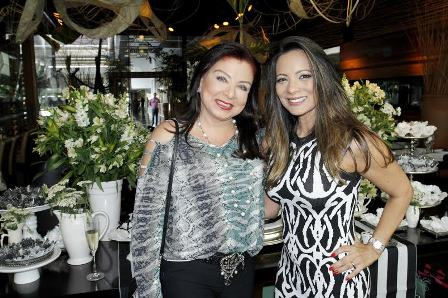 Claudia Rhamnusia e Marcia Romão