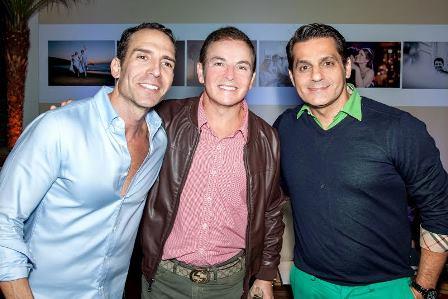 Leonardo Araújo, Luciano Negreiros e Francisco Macedo