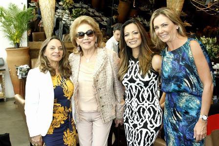 Maria Araujo, Idinha Seabra Veiga, Patrcia Romão e Marcia Verissimo
