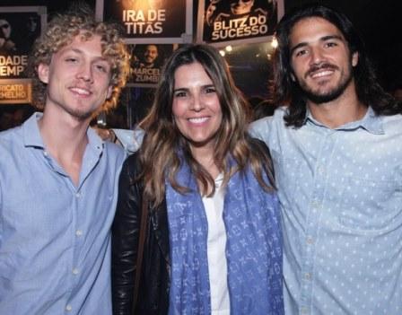 Alessandro Zoé, Claudia Romano e Rodrigo Lírio