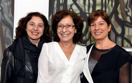 Angela Buaiz , Lucia Chequer e Deyse Lemos