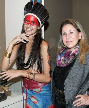 Beatriz Andrade e Leilah Costa