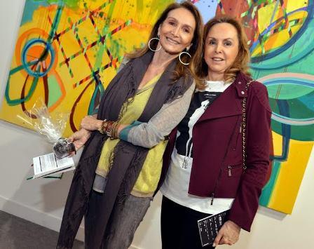 Beth Pires Gonçalves e Ina Yaseji