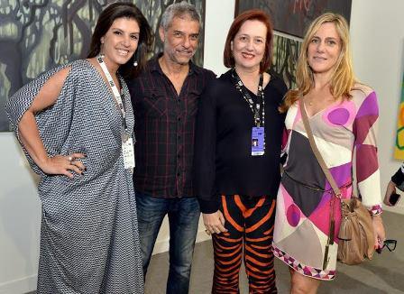 Lara Brotas , José Bachara, Sandra Matias e Dedina Bernadelli