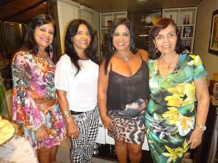 Maria da Penha Vinhas Limeira, Ana Porto,Nair Nascimento, e Ligia Sarkis