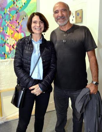 Os Artistas Plásticos Monica Barki e Hilal Sami Hi