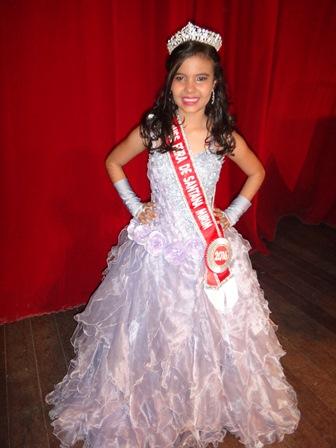 Miss Feira Mirim 2016 Kamila Santana Cardoso
