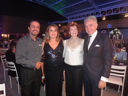 Carlos Augusto, Ivana Pitombo, Zauri Caribé e Volney Pitombo