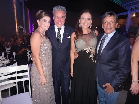 Eva Pedreira, Volney Pitombo, Ana Cristina Portugal e Ruy Caribe