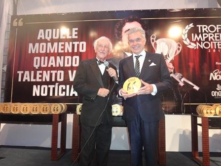 José Carlos Pedreira com o Cirurgião Plastico Volney Pitombo