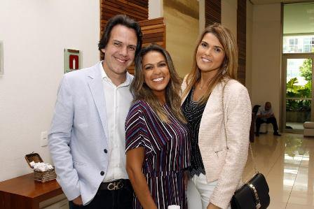 Cayo Costa, Bia Bottini e Claudia Lobo