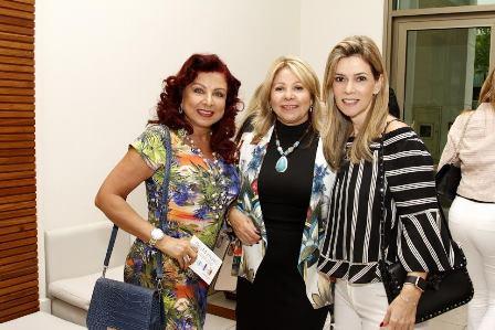 Claudia Rhamnusia, Catia Garrido e Karina Nigri