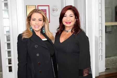 Ariadne Coelho e Eliane Amin